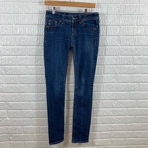 Miss Me Skinny Jeans 28 Tall Long